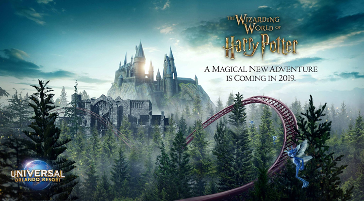 The Wizarding World of Harry Potter - New Ride coming in 2019