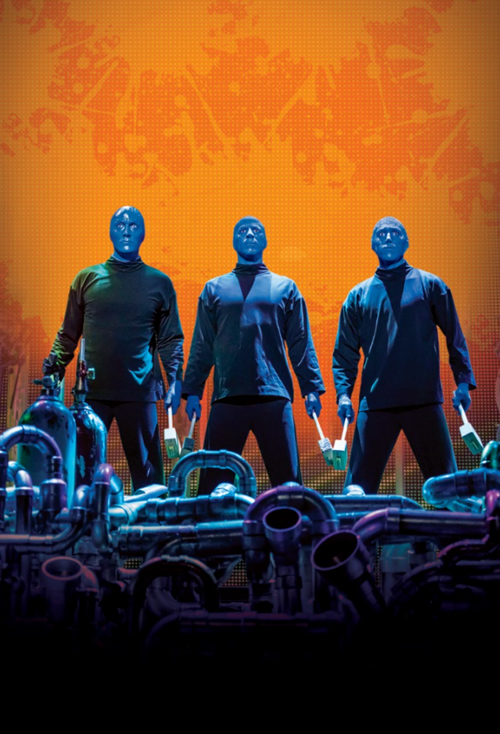 Blue Man Group Universal Orlando