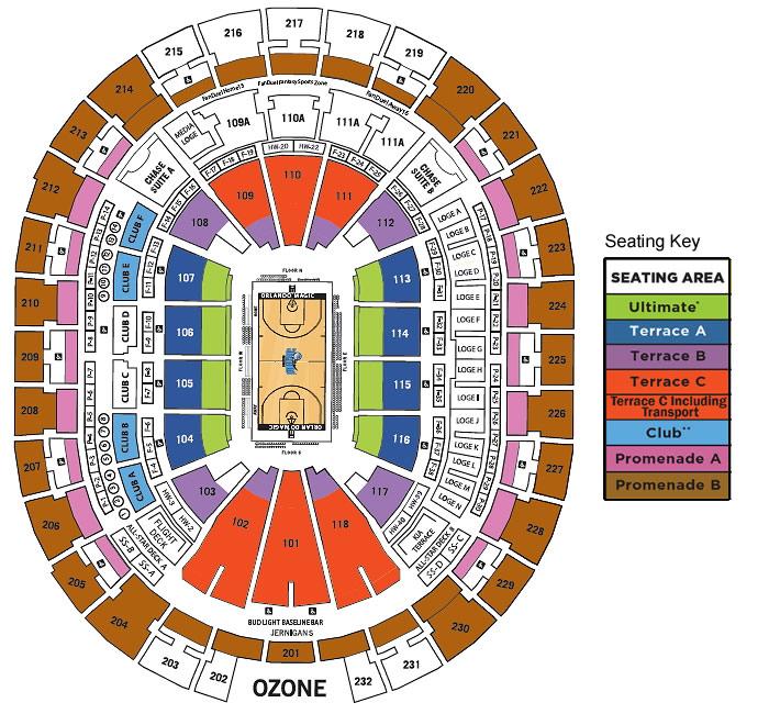 Orlando Seats