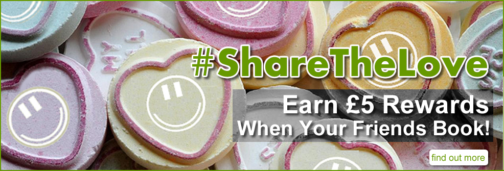 #ShareTheLove and get £5.00 rewards